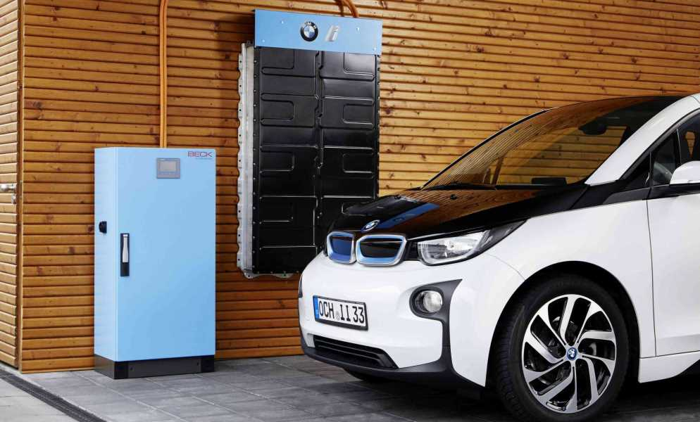 BMW adapts i3 battery for home usage