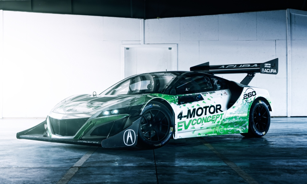 Acura reveals its hill climbing NSX for Pikes Peak