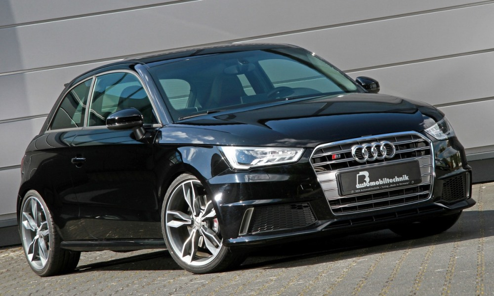 Audi S1 gets a performance boost