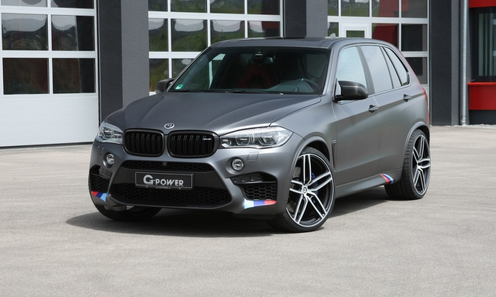 G-Power gives the BMW X5 M some more power