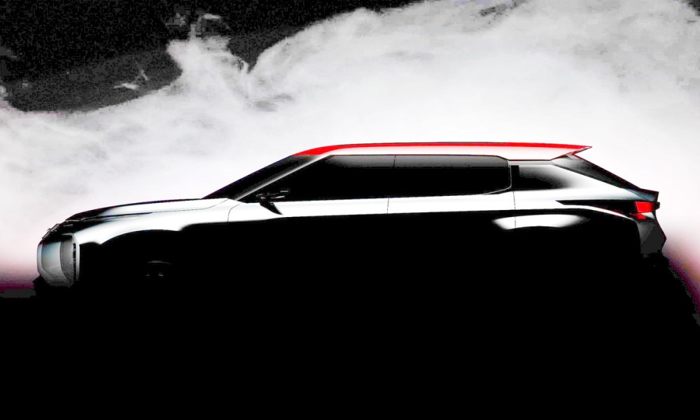 Mitsubishi Ground Tourer Concept teased
