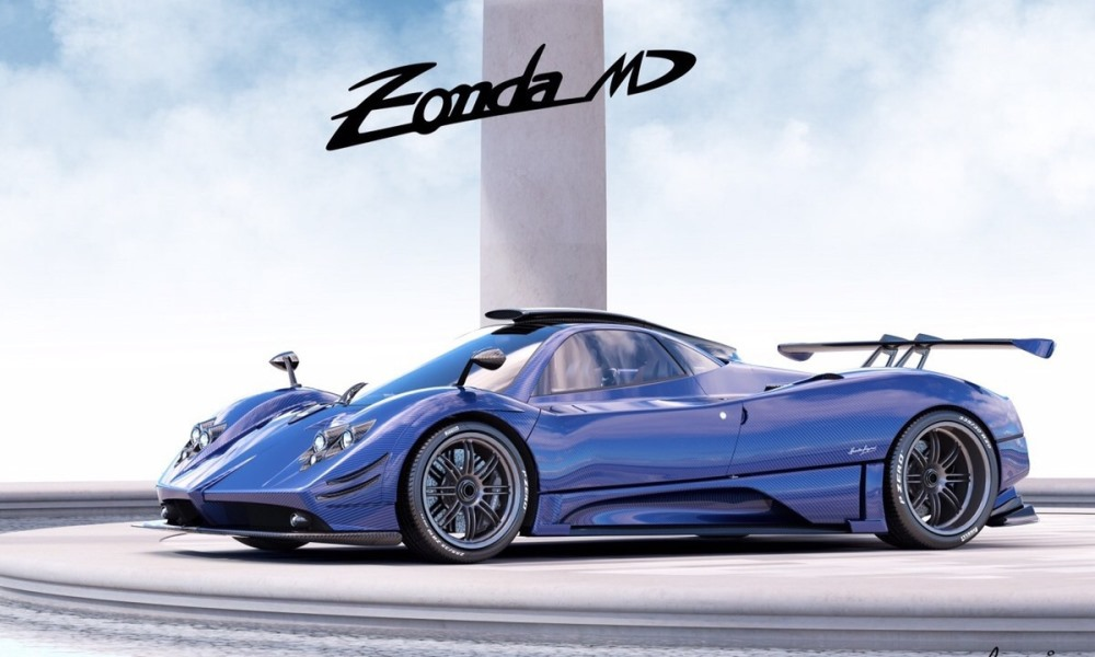 One-off Pagani Zonda MD revealed