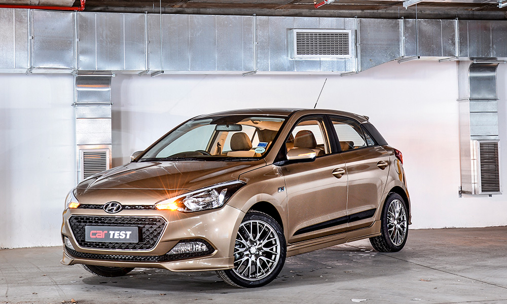The Hyundai I20 1,4 Sport Has Plenty Of Local Flavour.