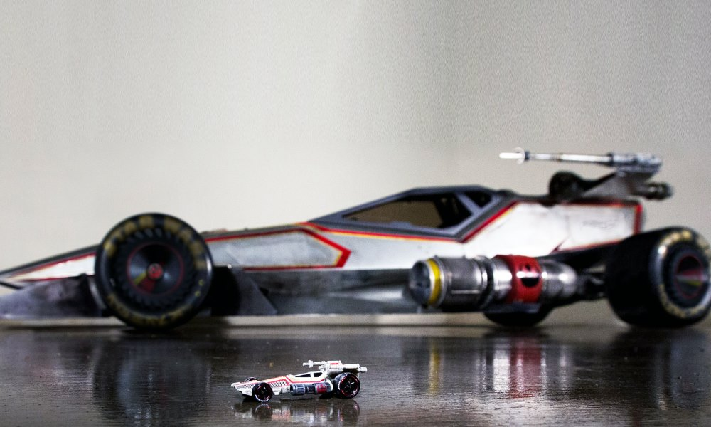 Hot Wheels recreates the Star Wars X-Wing Fighter