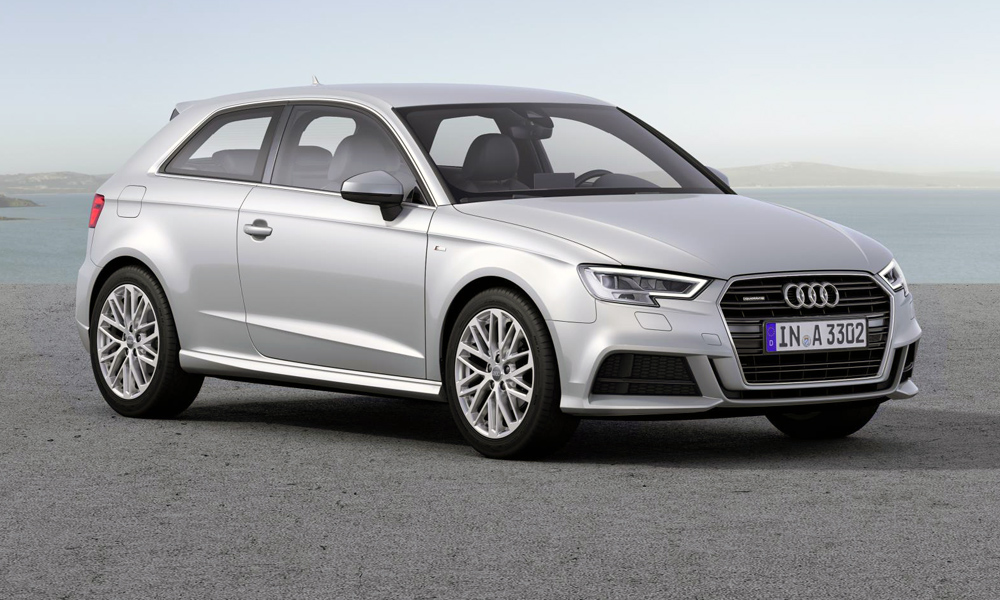 Audi A3 three-door