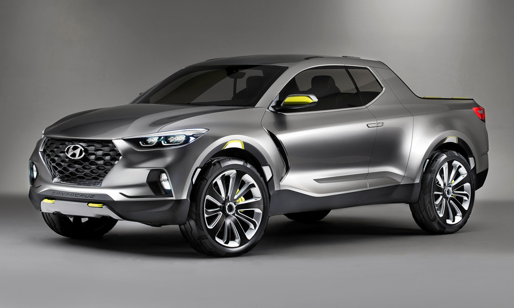 Hyundai Considering Production Version Of Santa Cruz Truck