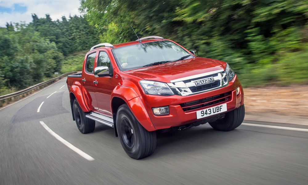 Isuzu KB Arctic Trucks AT35