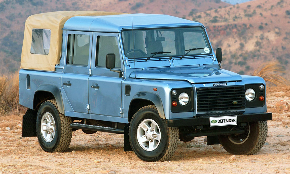 Land Rover Defender double-cab