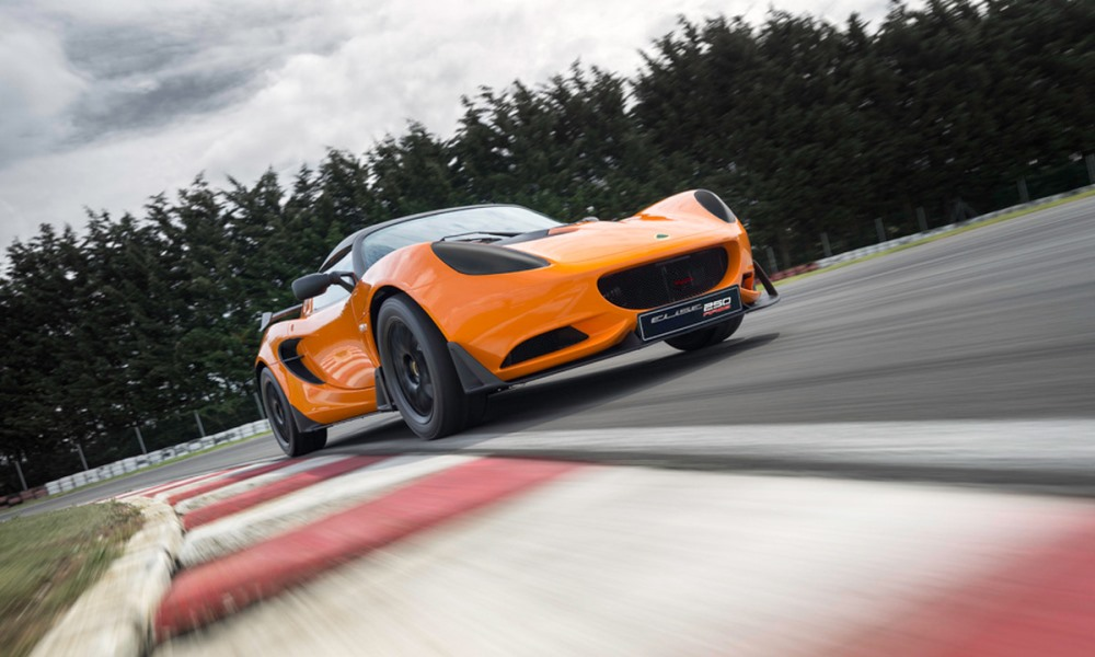 Lotus Elise Race 250 revealed