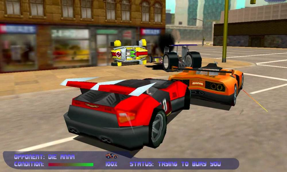 Carpocalypse Now is widely considered as one of the best vehicular combat games to date.