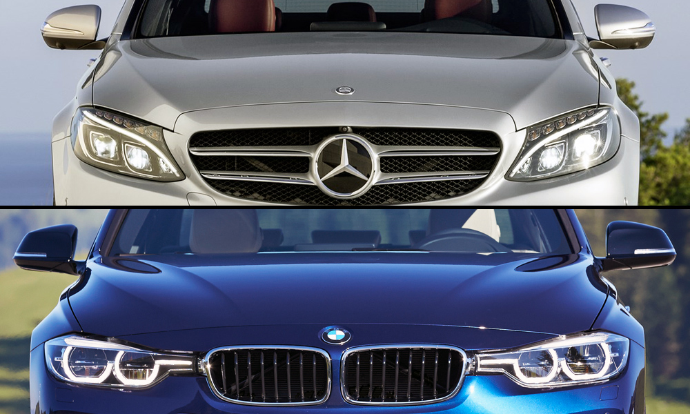 Mercedes Benz Vs. BMW