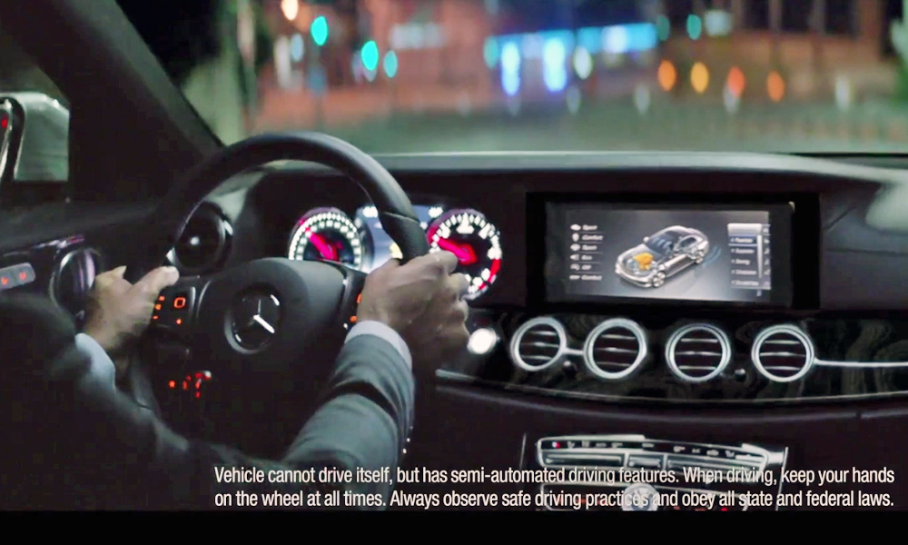 Mercedes-Benz E-Class advert