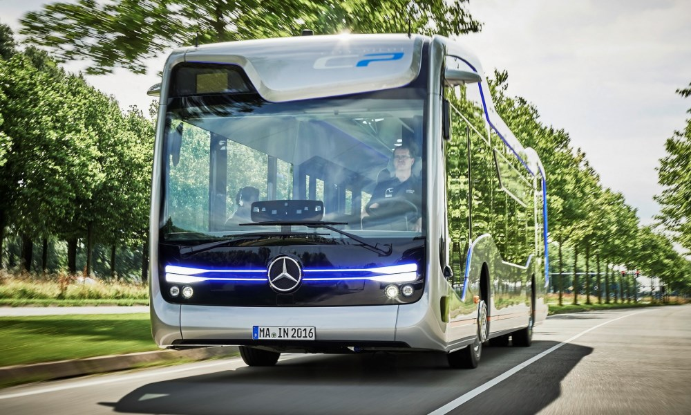 Mercedes-Benz Future Bus is almost ready