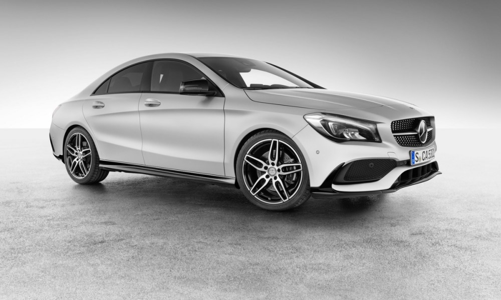 CLA gets more kit from Mercedes-AMG