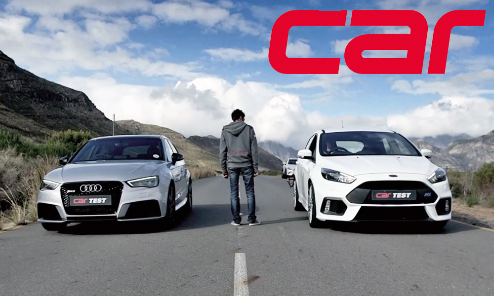 Audi RS3 vs. Ford Focus RS