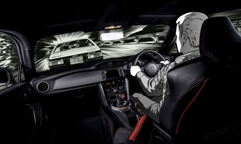toyota pays homage with initial d 86 concept car magazine