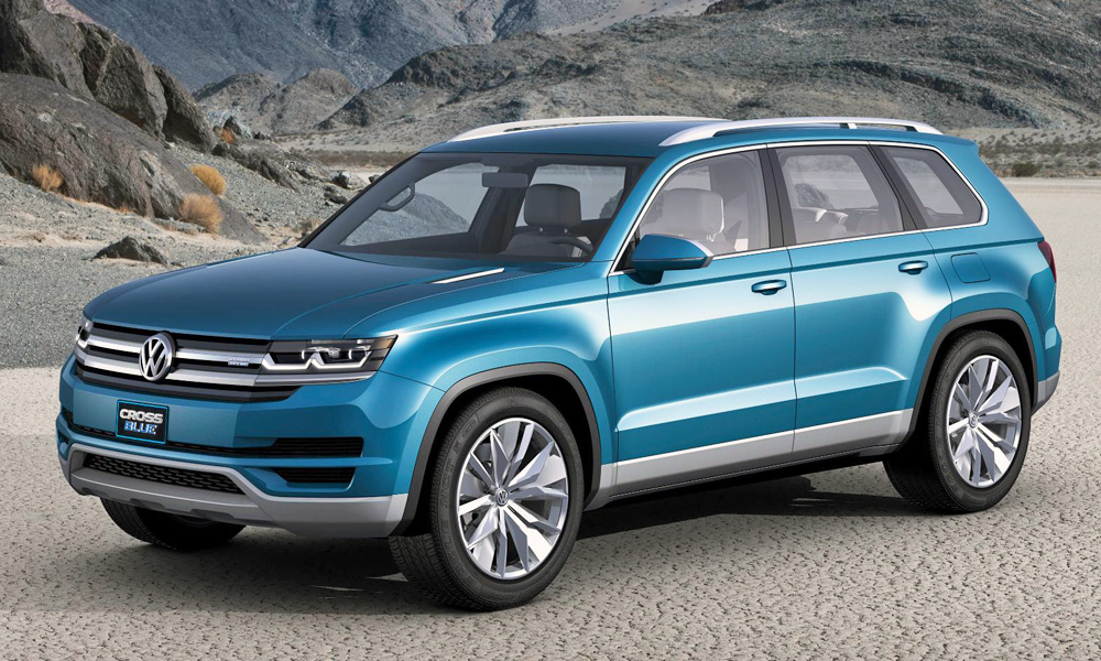 Volkswagen CrossBlue concept to bear American-style name