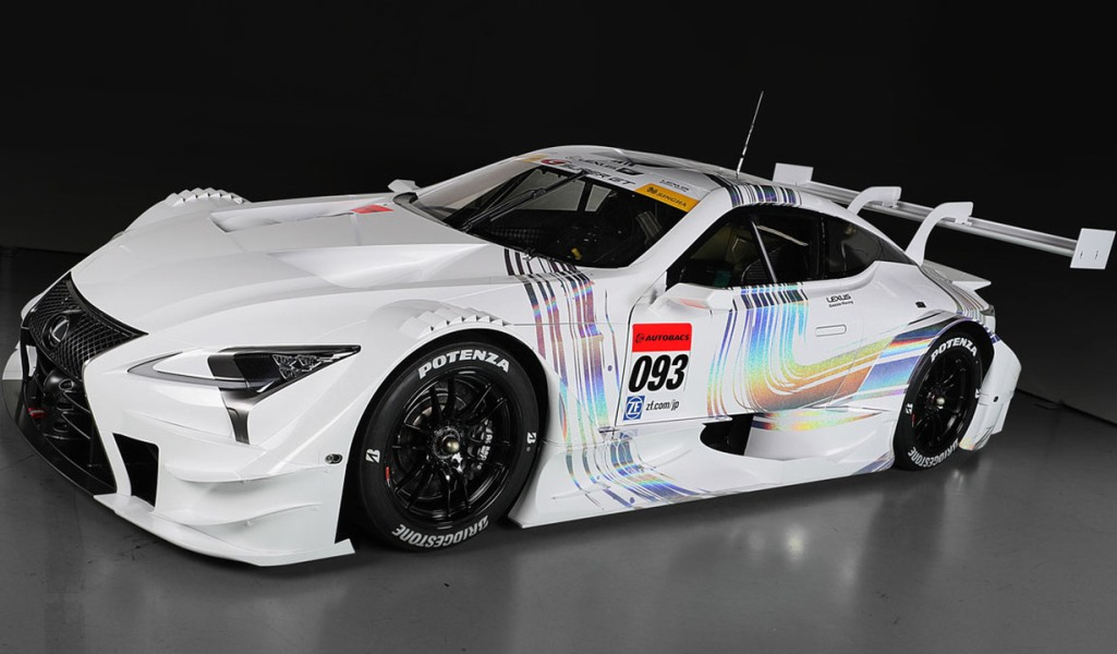 Lexus LC 500 set to compete in 2017 Super GT season.