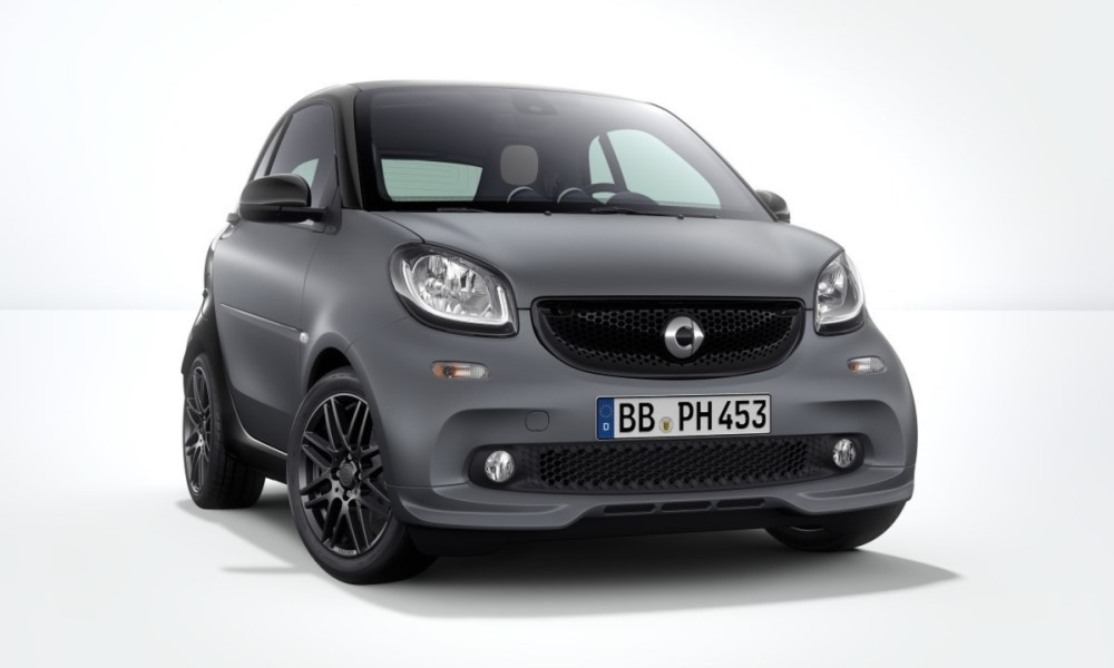Smart ForTwo Brabus Sport Pack revealed