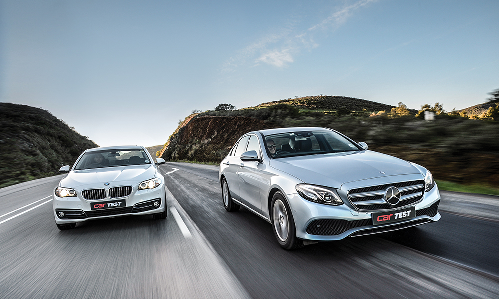 BMW 520d vs. Mercedes-Benz E220d