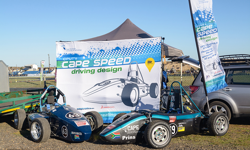 The CPUT team entered in 2012 and 2014 Formula Student events.
