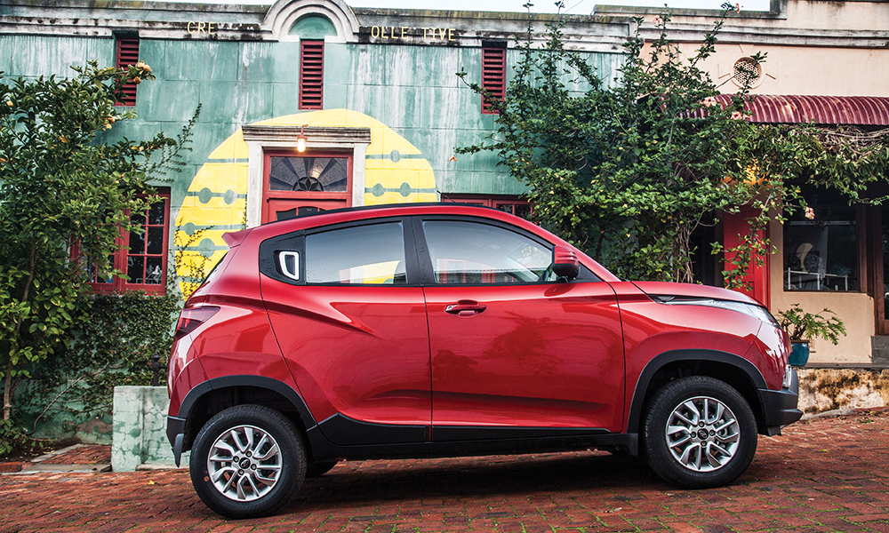 Small dimensions mean the KUV100 is a cinch to park.