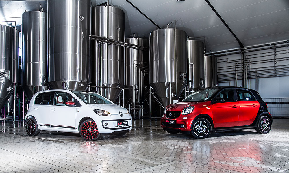 Volkswagen Up vs. Smart Forfour Passion