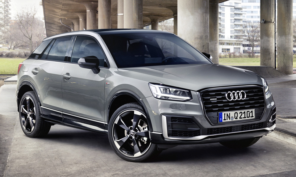 say hello to the sportily styled audi q2 edition 1 car. Black Bedroom Furniture Sets. Home Design Ideas