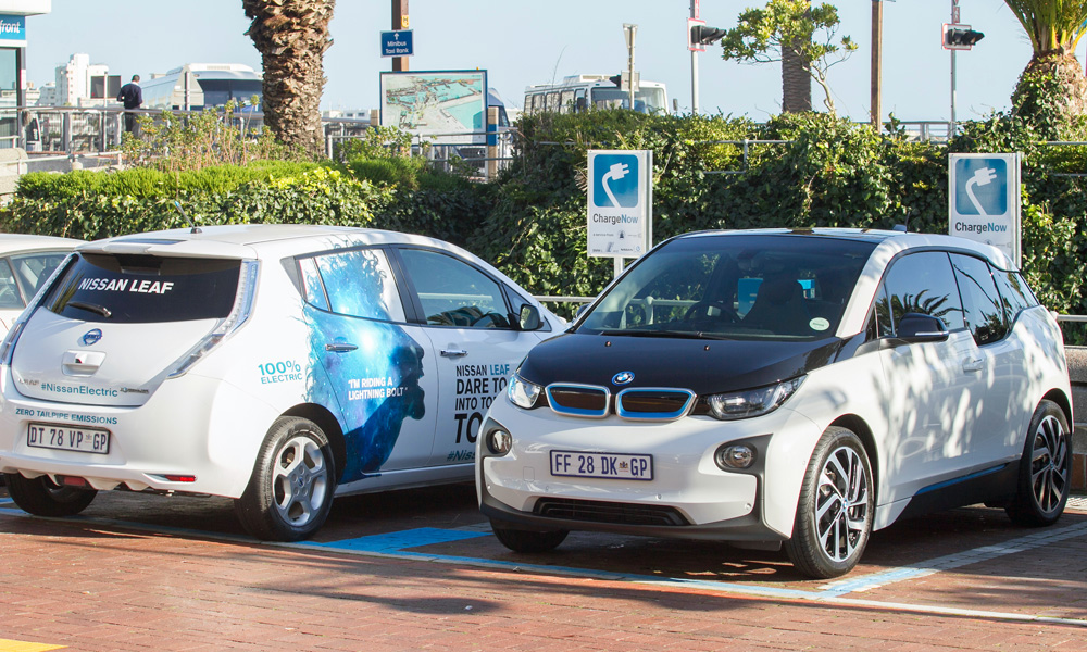 BMW and Nissan charging infrastructure