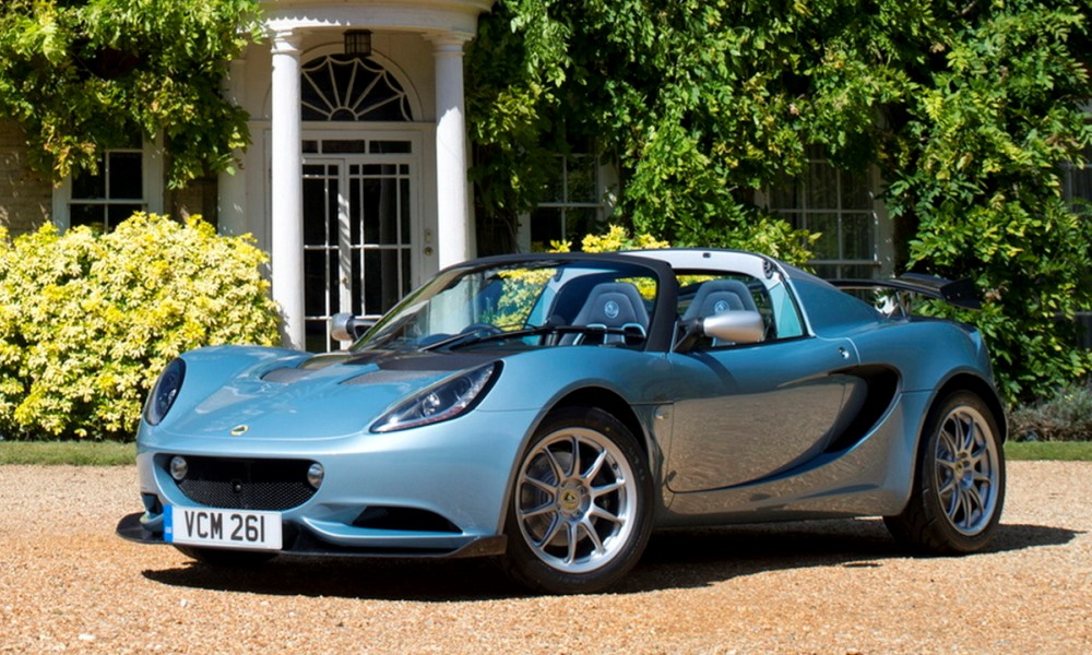 Lotus Elise 250 Special Edition sheds some weight.