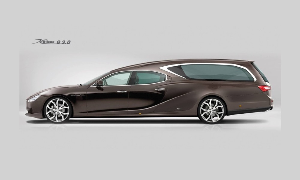 The added compartment should make this sedan much heavier.
