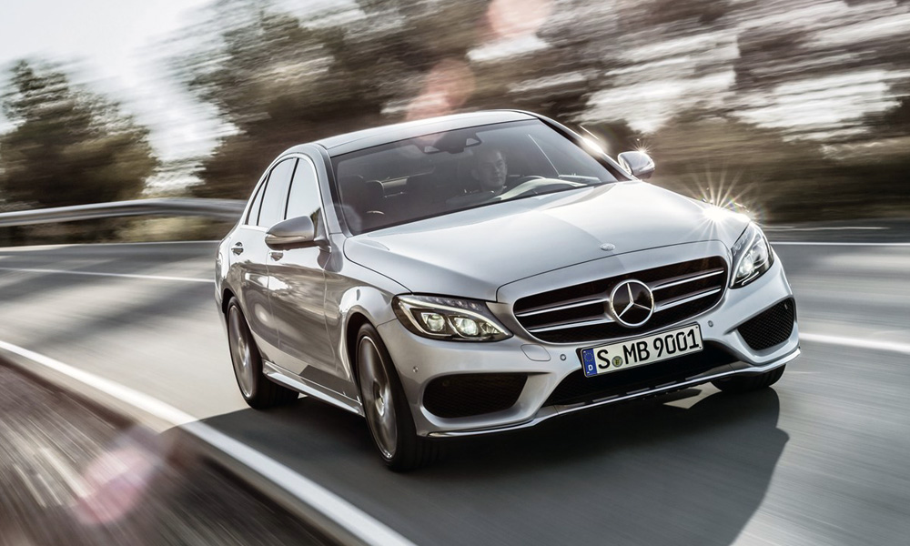 The Mercedes Benz C Class Rounds Out The Top Five.
