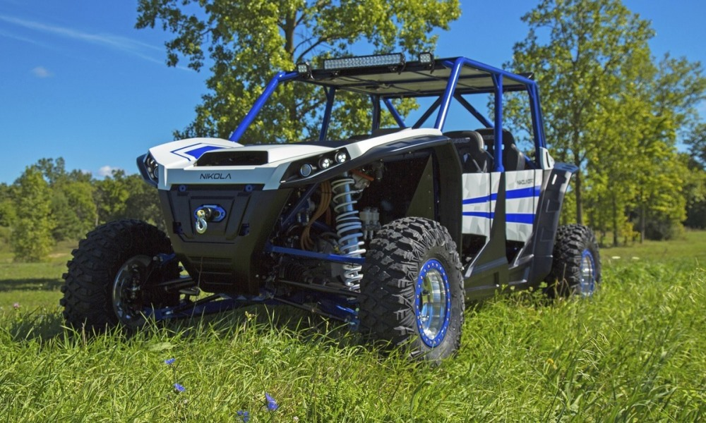 Electric 388 kW Nikola Zero UTV revealed.