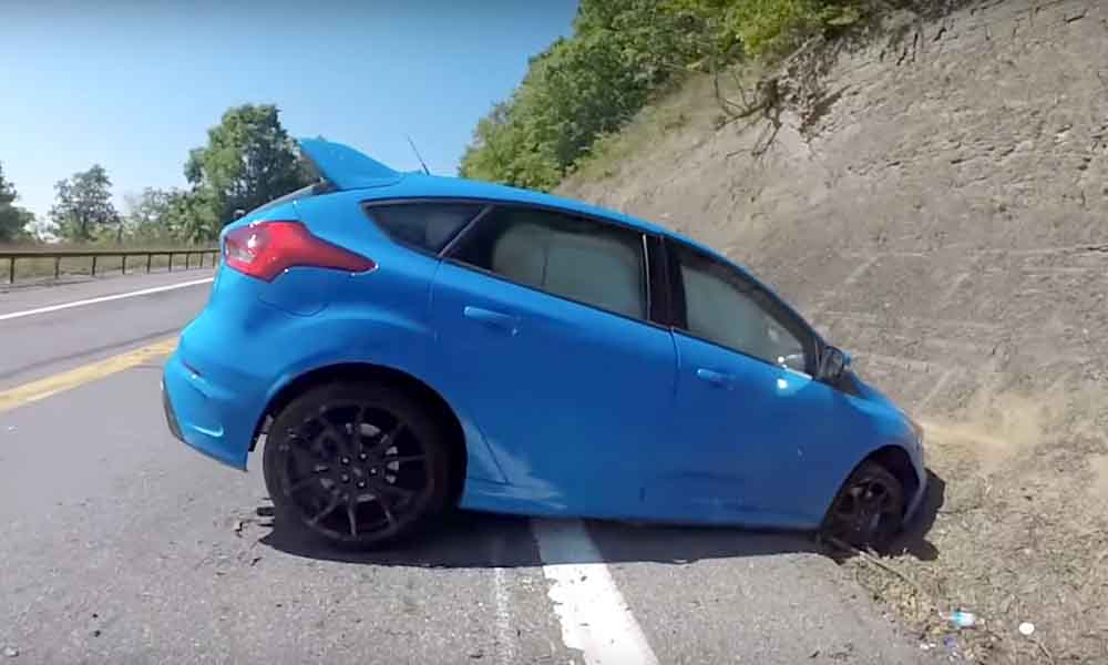 ford focus rs crash