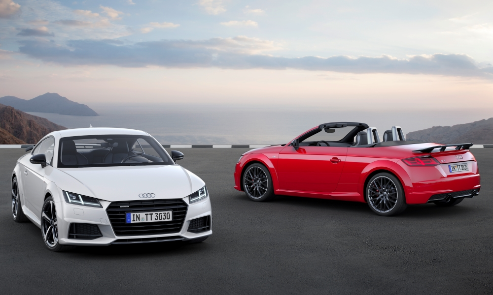 Audi TT S Line competition revealed.