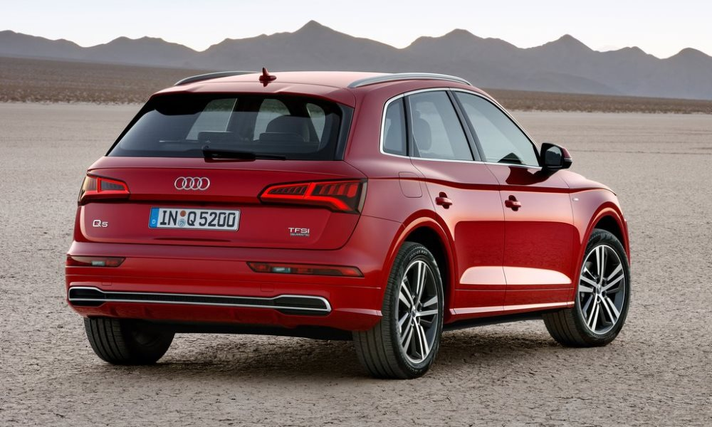 The option list for the Q5 has been lengthened.