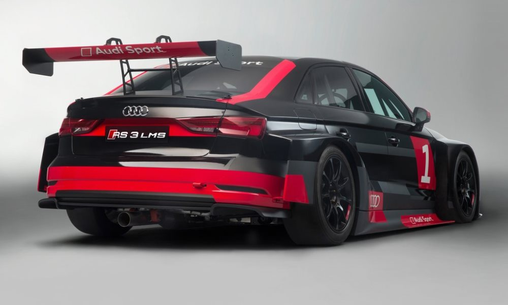 The RS3 LMS will be used to compete in the 2017 TCR season.