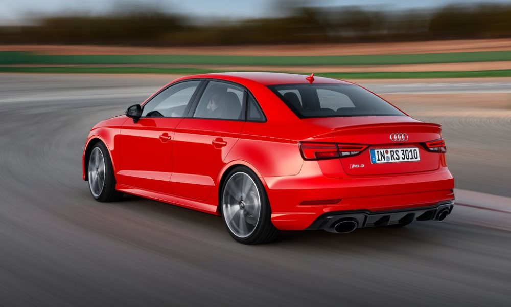We already know a lot about the RS3 Sedan.
