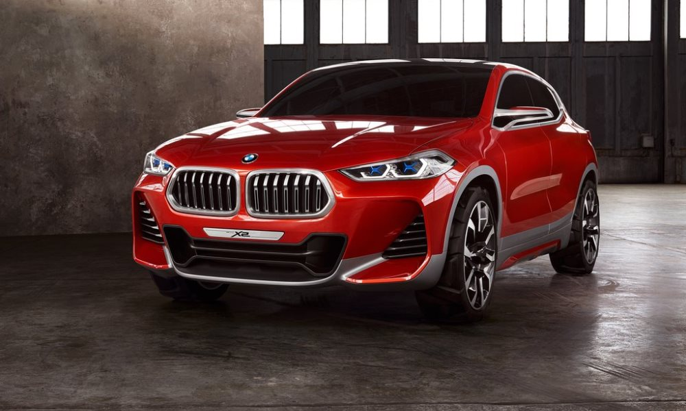 BMW X2 Concept revealed. Confirmed for 2018.