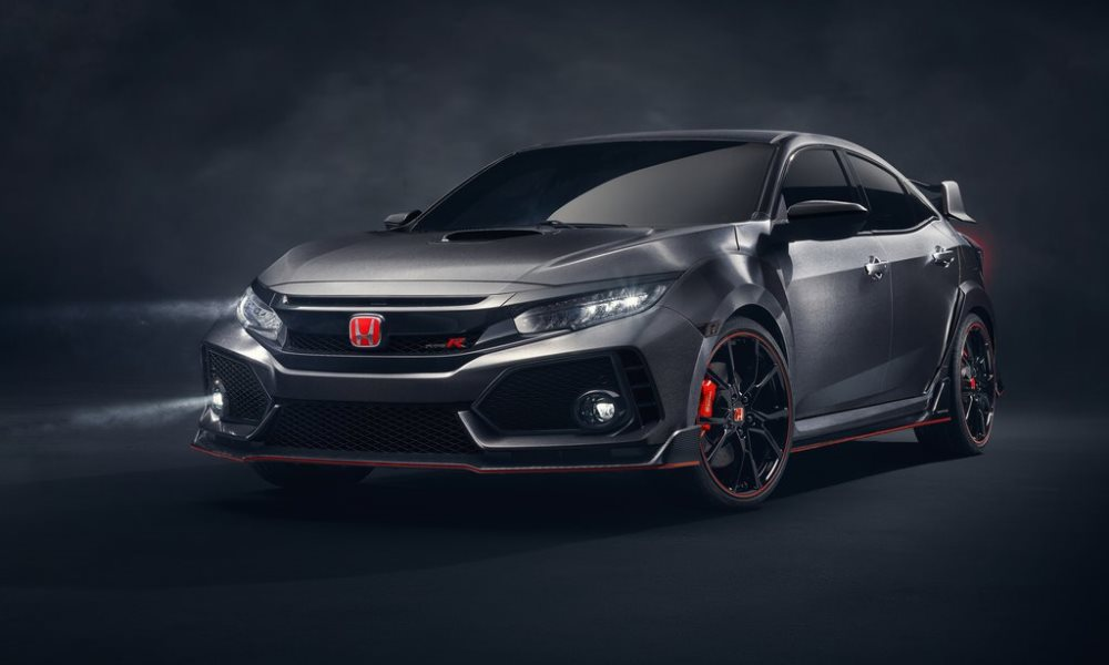 Honda Civic Type R Concept revealed.