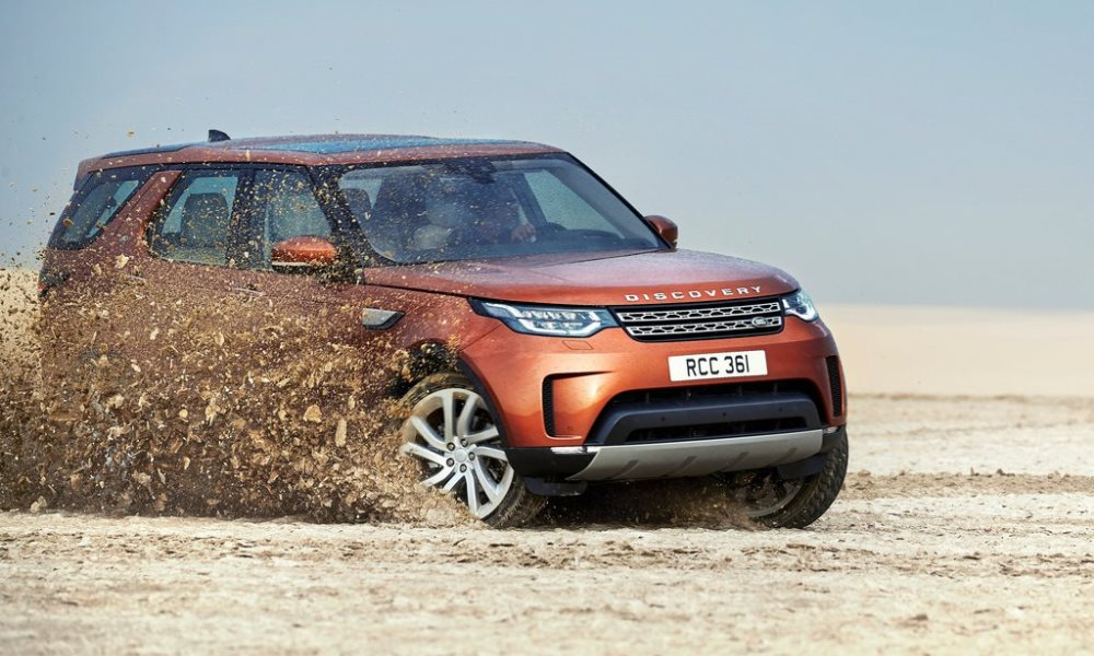 Land Rover Discovery revealed.