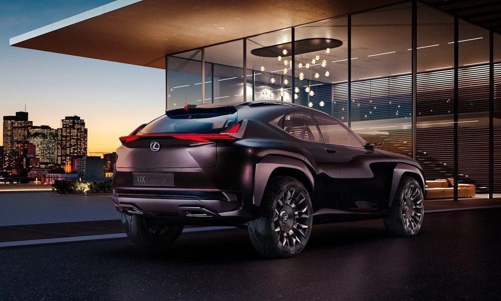 The UX represents the new design philosophy for Lexus.