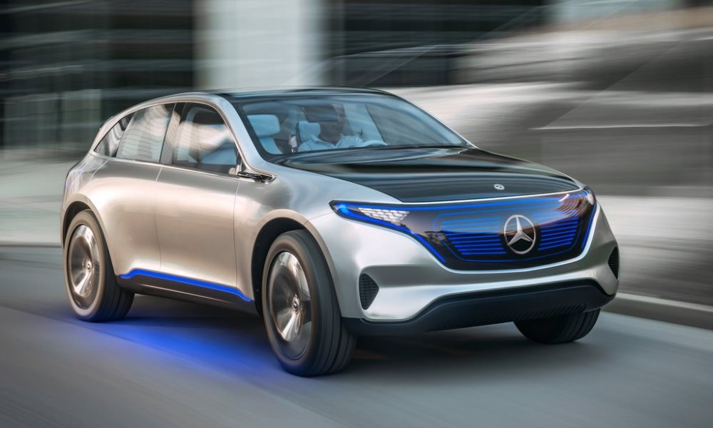 Mercedes-Benz Generation EQ Concept revealed