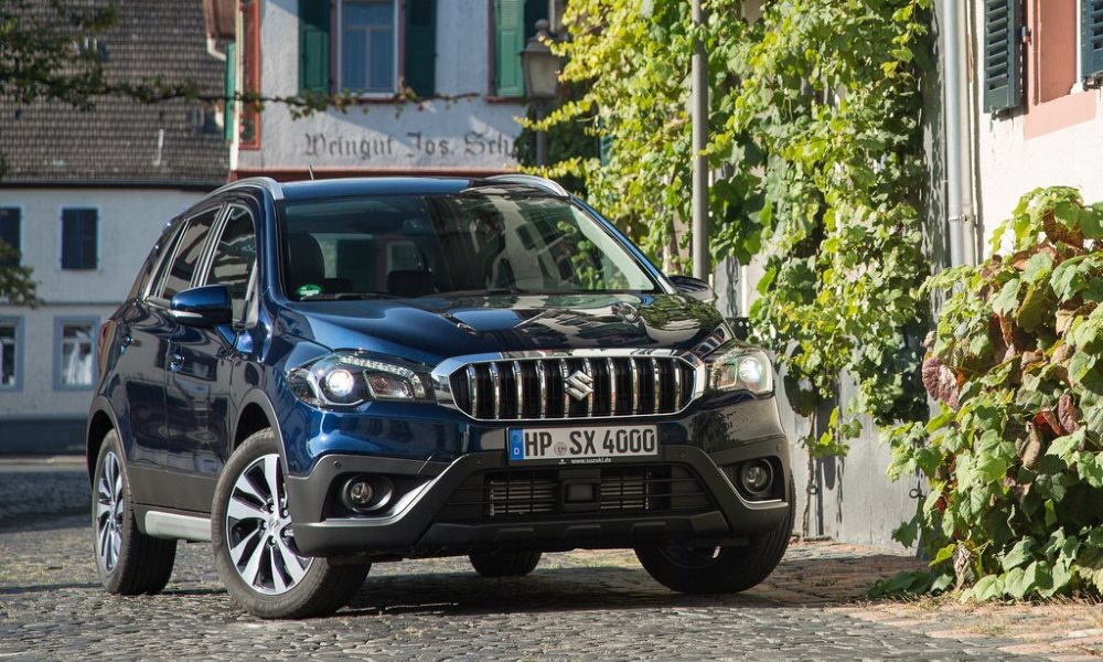 Suzuki SX4 S-Cross facelift officially revealed.