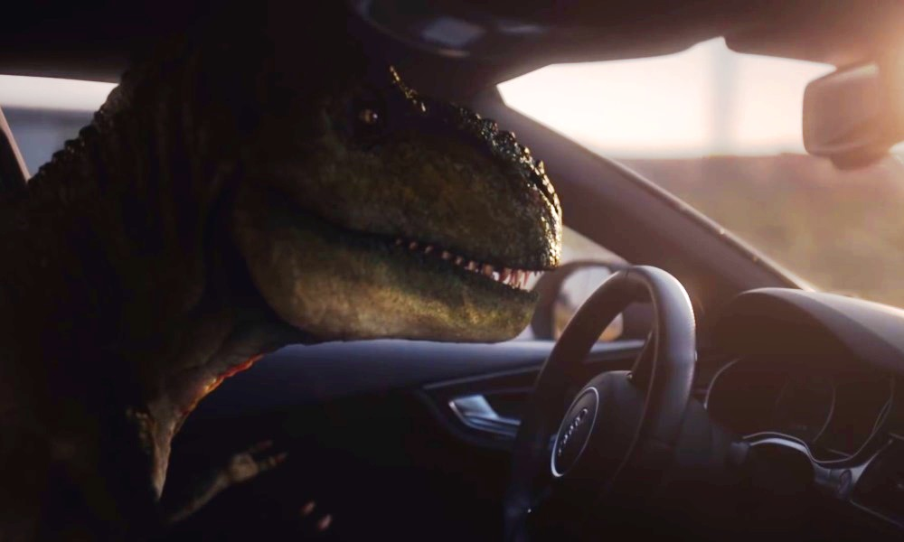 T-Rex gets new life thanks to Audi piloted driving