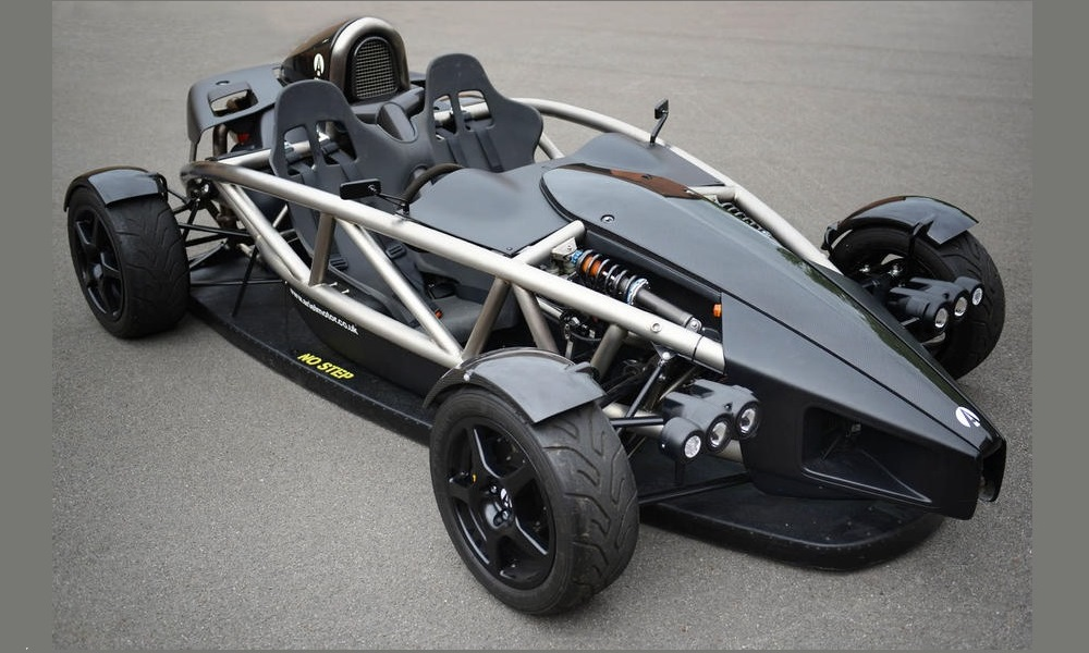 Ariel Atom Aero-P makes use of banned technology.