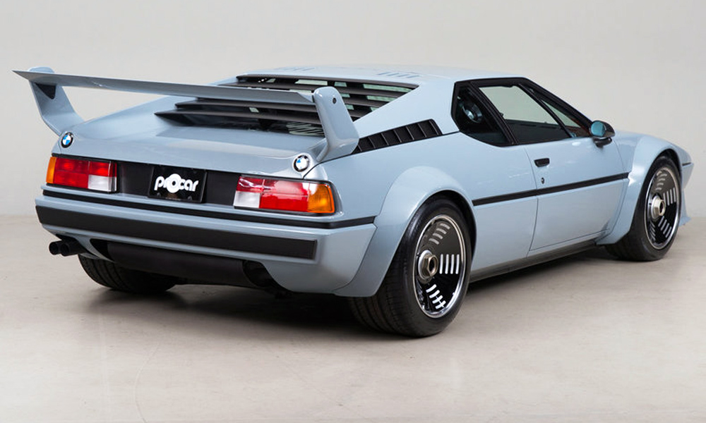 It was one of 40 examples built for the BMW M1 Procar Championship.