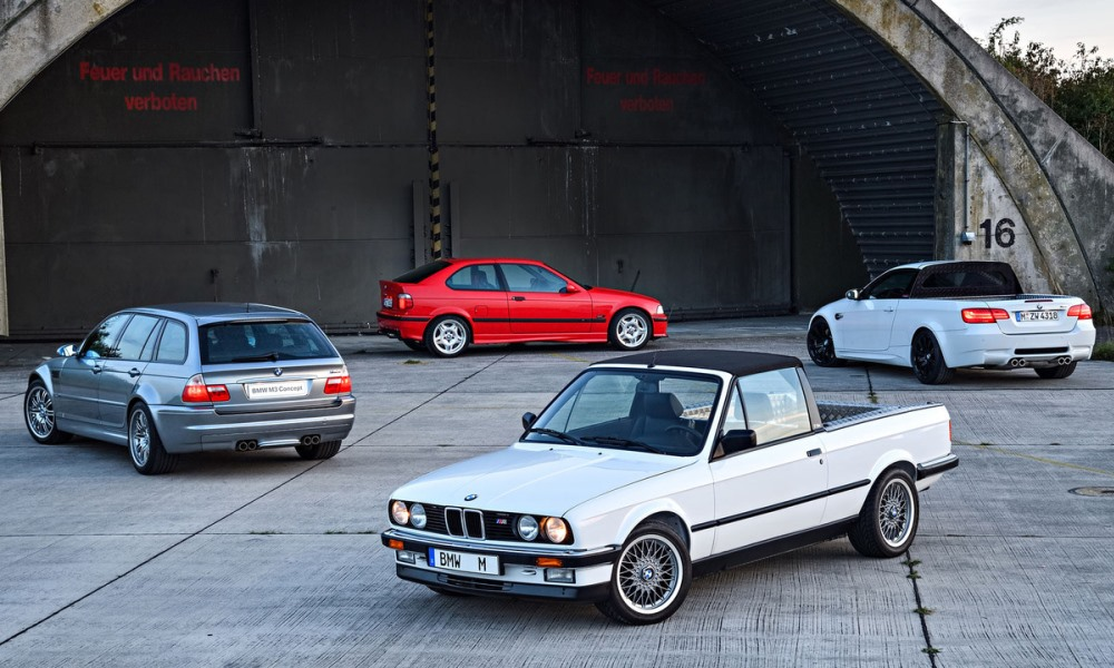 BMW M3 30th Anniversary welcomes 4 special guests.