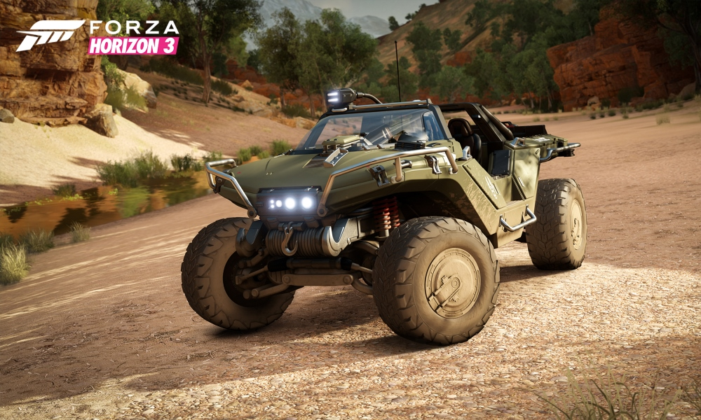 Forza introduces a drivable Warthog in Horizon 3