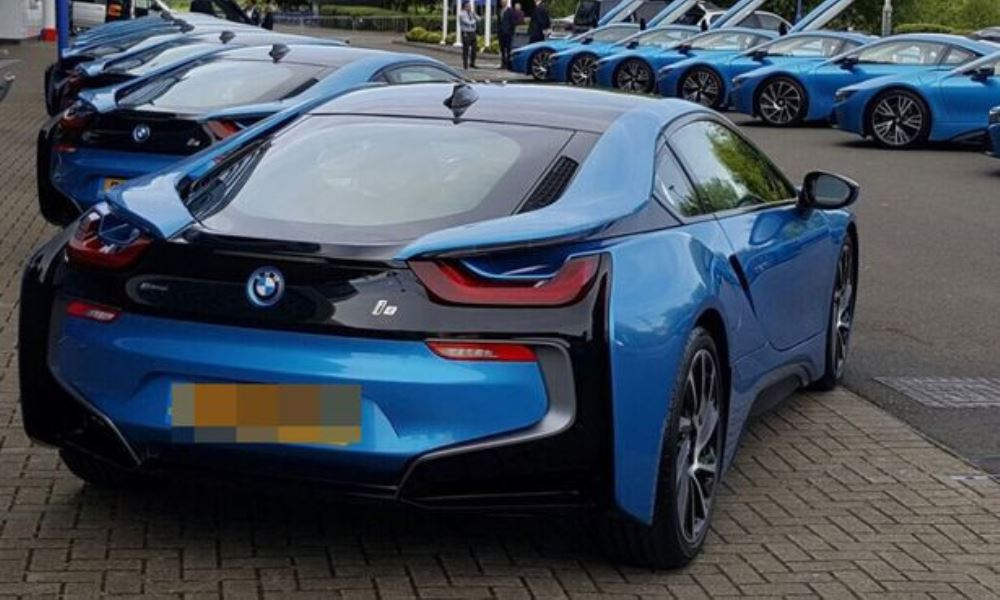 Leicester City players do not know which i8 is theirs.